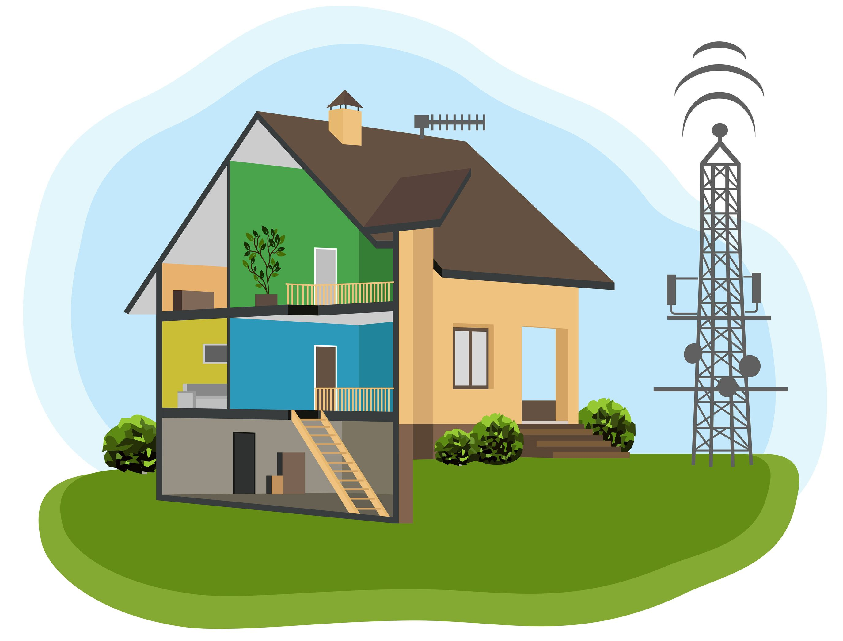 Как сделать интернет в деревне где нет 3g